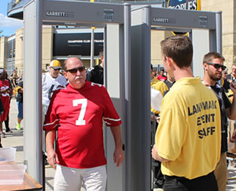 Rent Metal Detectors for Access Control and Security at Stadiums