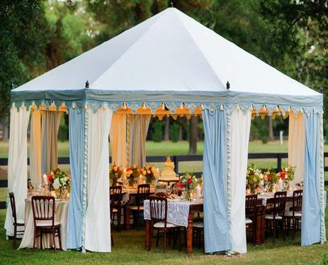 Rent Event Tents for Upscale Events like Weddings or Graduations