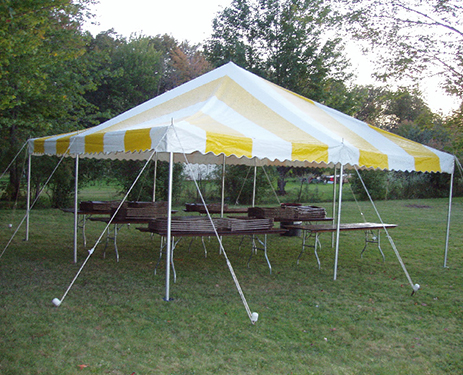 Tent Rentals are Ideal for Outdoor Fairs and Company Picnics