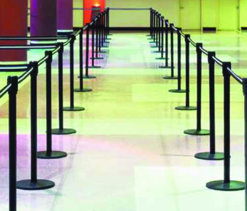 Large Inventory of Belt Stanchion Rentals