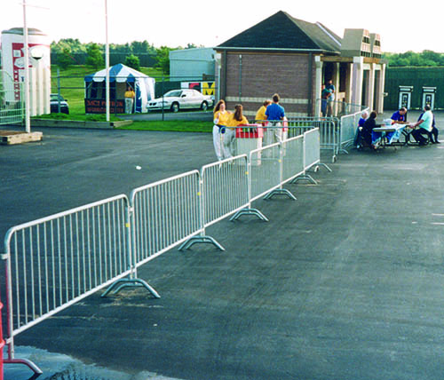 Rent Steel Barriers Nationwide from Ally Rental