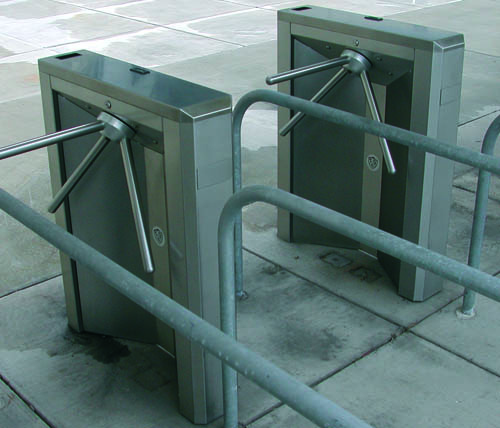 Ally Rental Turnstiles at Heinz Field in Pittsburgh, PA